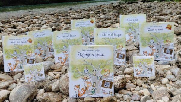 Deni Kragelj izdala nove prevode knjige Življenje v gozdu